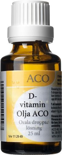 d vitamin olja vuxna