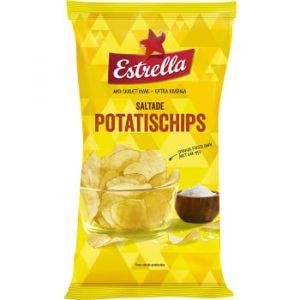Estrella Chips- Saltade Potatischips