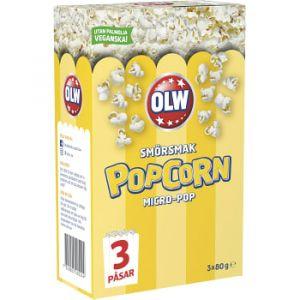 OLW Micropop Popcorn Smörsmak