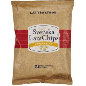 Svenska Lantchips Lättsaltade