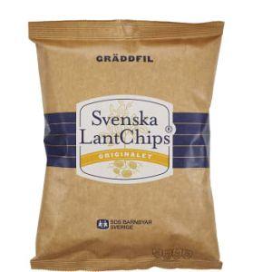 Svenska Lantchips Gräddfil