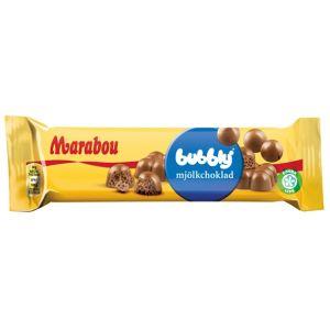Marabou Dubbel Mjölkchoklad Bubblig