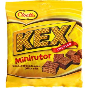 Cloetta Kexchoklad Minirutor påse