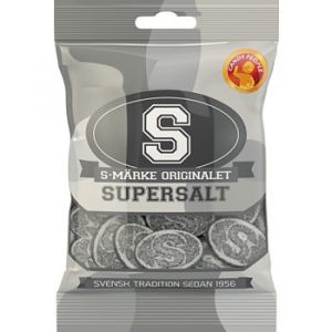 S-märke Supersalt - Candypeople