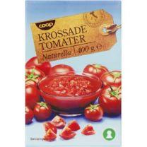 Krossade tomater