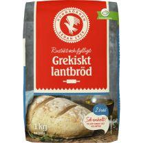 Kungsörnen BrödMix Grekiskt Lantbröd