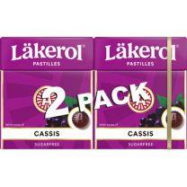 Läkerol Cassis 2-pack