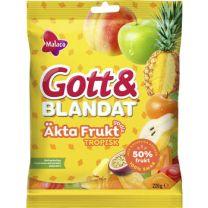 Gott & Blandat Äkta Frukt Tropisk