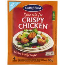 Santa Maria Spice Mix Crispy Chicken