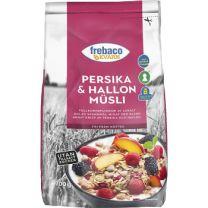 Frebaco Müsli - Persika Hallon Utan tillsatt socker