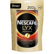 Nescafe Lyx Mörkrost Snabbkaffe Refill