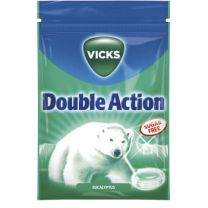 Vicks Blue Double Action Eucalyptus Sugarfree