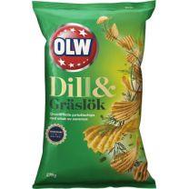 OLW Chips - Dill & Gräslök
