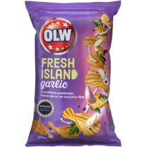 OLW Chips - Fresh Island Garlic