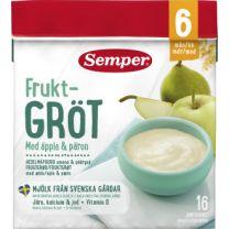 Semper Fruktgröt Äpple & Päron 6- Mån *StorPack*