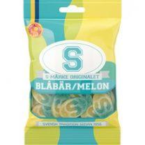 S-märke Blåbär/Melon - Candypeople