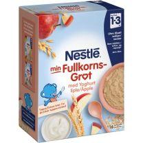 Nestlé Fullkornsgröt Äpplebitar Yoghurt - 12 Mån