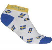 Sverige Strumpa Vit