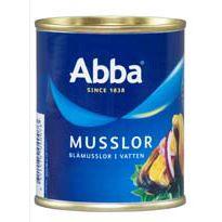 Abba Musslor I Vatten