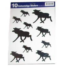 Älg Stickers / Klistermärken