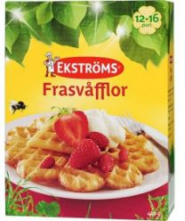 Ekströms Frasvåfflor VåffelMix