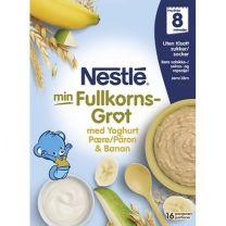 Nestlé Fullkornsgröt Yoghurt Päron & Banan 8 Mån