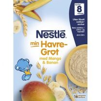 Nestle Havregröt Banan & mango - 8 mån