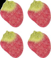 Lösviktsgodis - Jordgubbar sockrade