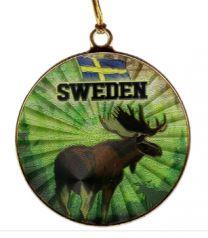Juldekoration Sverige Älg