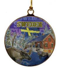 Juldekoration Sverige Vinter