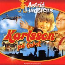 CD-Bok Astrid Lindgren - Karlsson på taket
