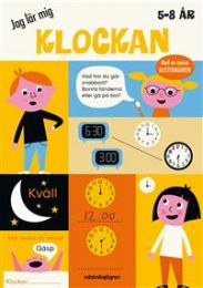 Jag Lär Mig klockan (5-8 År)