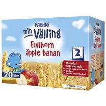 Nestle Fullkornsvälling Äpple & banan - 24 Mån *StorPack*