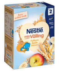 Nestle Fullkornsvälling Äpple & banan - 24 Mån