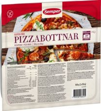 Semper Glutenfri- Pizzabottnar
