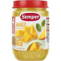 Semper Puré Frukt Mango - 4 mån