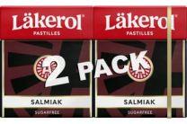 Läkerol Salmiak 2-pack