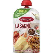 Semper Puré PåsMat Lasagne  - 6 mån