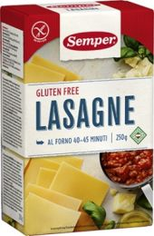 Semper Glutenfri Pasta - Lasagne
