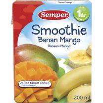 Sempr Smoothie Banan & mango -12 Mån