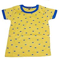 Sverige T-Shirt Gul