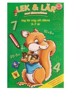 Lek & Lär - Jag Lär Mig Räkna  (5-7 År)