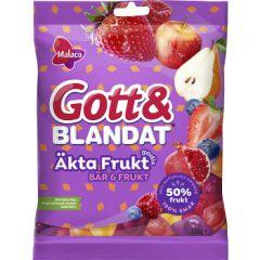 Gott & Blandat Äkta Frukt Bär & Frukt