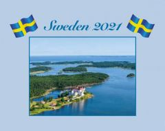 Väggkalender Sweden  2021