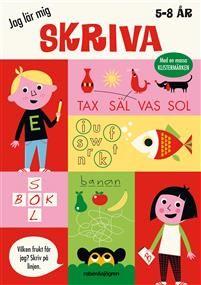 Jag Lär Mig Skriva (5-8 År)
