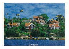 Kylskåpsmagnet Sweden